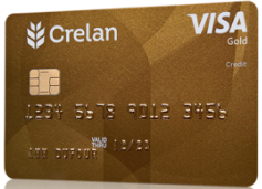 Crelan carte Visa Gold