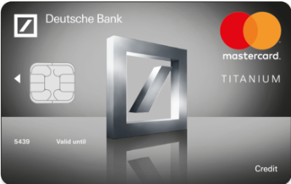 deutsche bank credit card